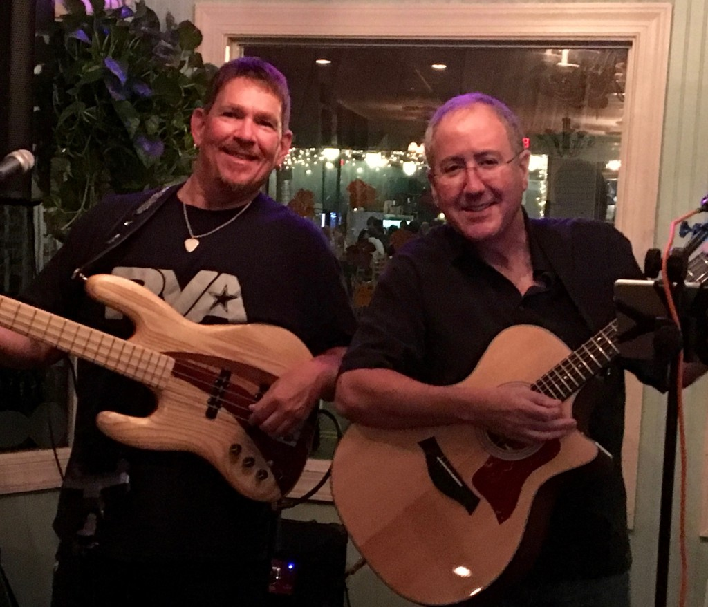 Keith Horne and Bill Roberts are The AcoustiCats